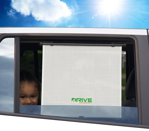 #8. Drive Auto Products Car Window Shade, Pack of 2
