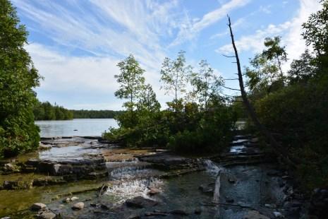 Where Cyrprus Lake meets the trail