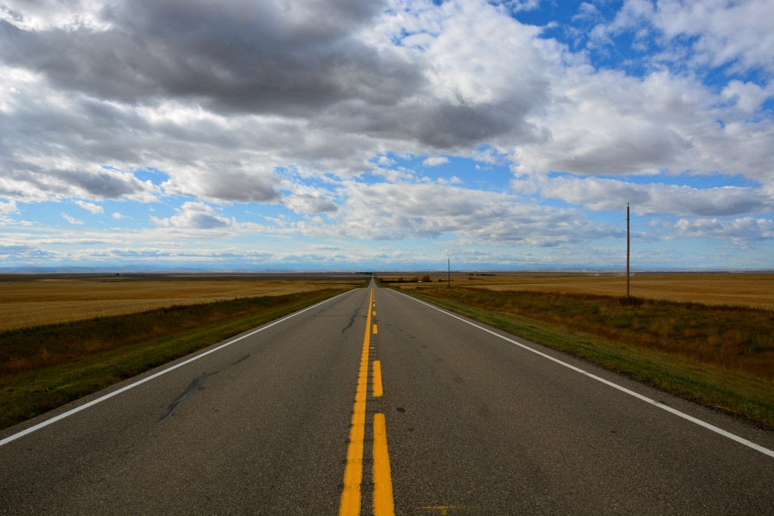 Open Road in Alberta
