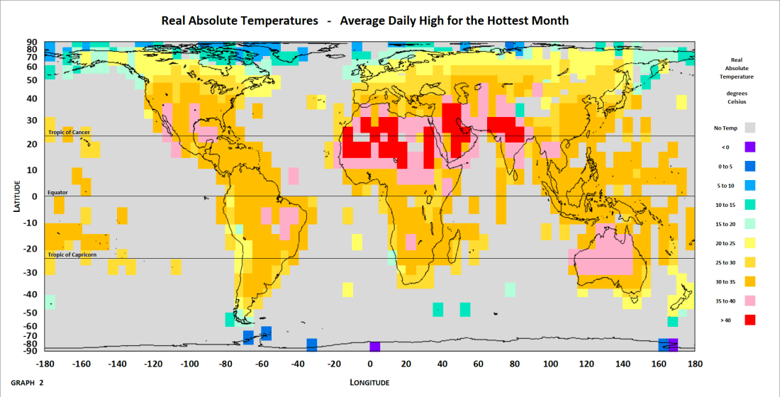 Map - Hottest Month Temp-1