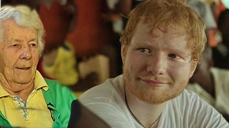 Ed Sheeran shares emotional experience with his Grandmother