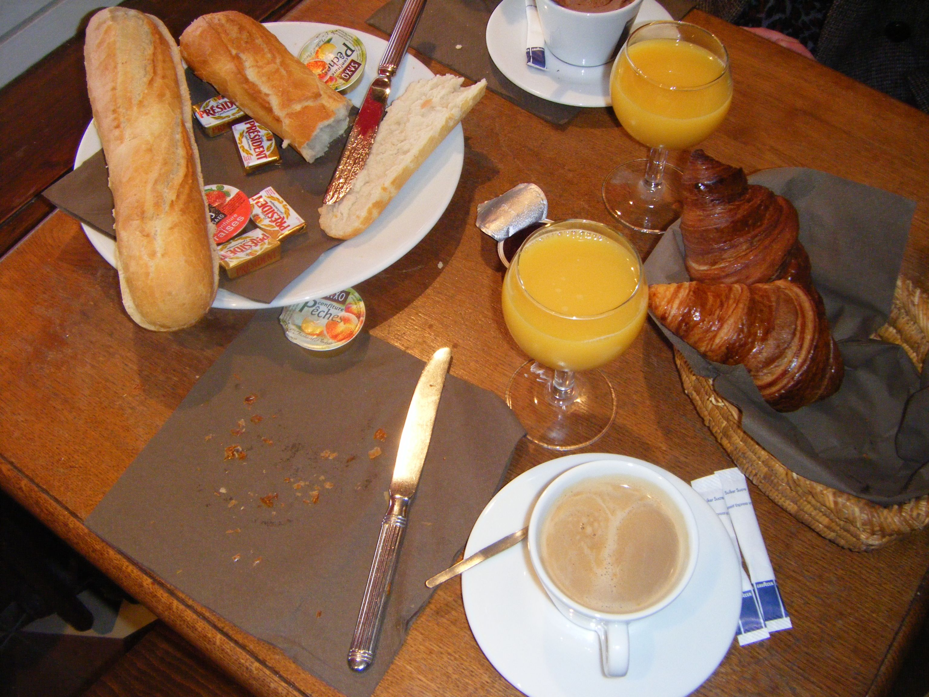 Breakfast In France