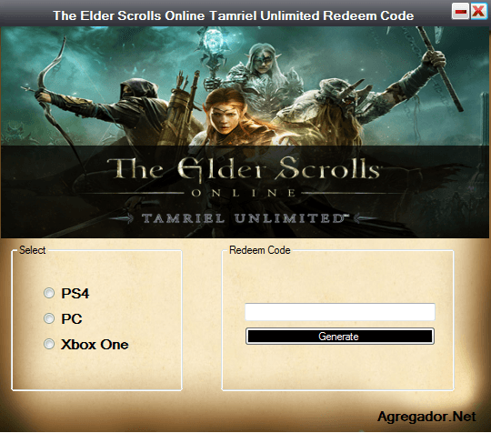 The Elder Scrolls Online Tamriel Unlimited Redeem Codes ...