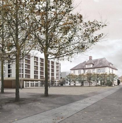 Zentrumsentwicklung, Neuhausen