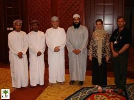 Omani friends, Ibrahim Tamara, Riad