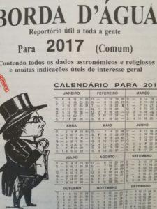 Borda dÁgua 2017