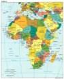 Mapa del continente africano