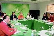 Mesa de reunion del pacto