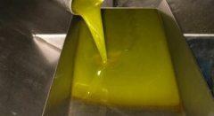 aceite granel recién extraído