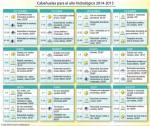 Las Cabañuelas para 2014-2015