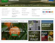 Web de alerta fitosanitaria