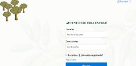 pantalla de autenticación de la aplicación