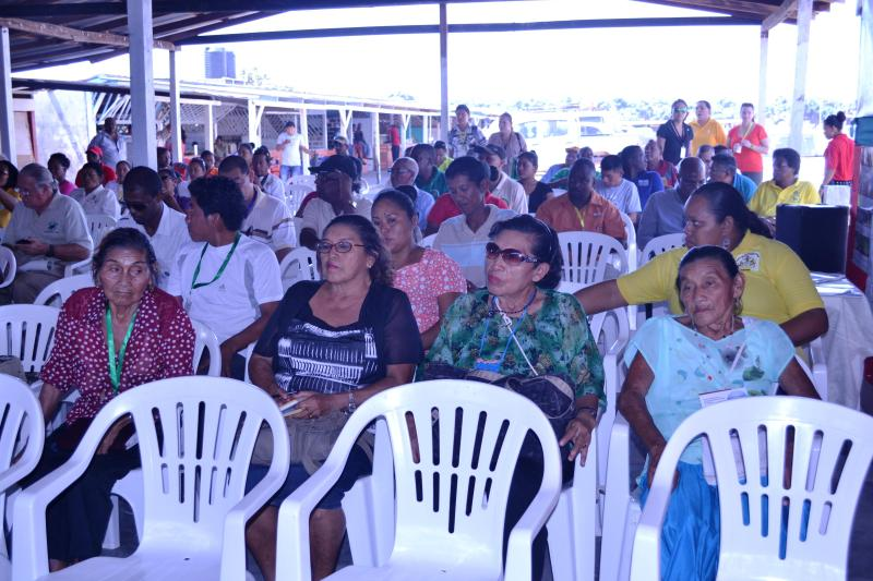 A section of the audience at the opening of the annual Rupununi Agri and Business Expo