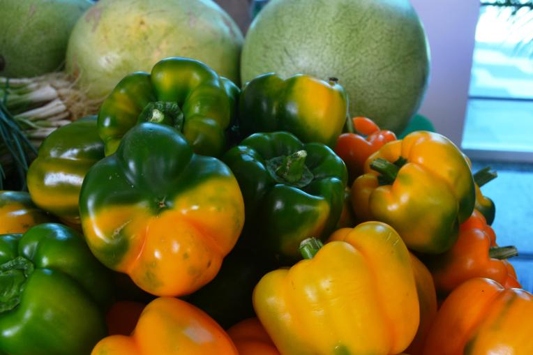 Organic Produce grown in Guyana