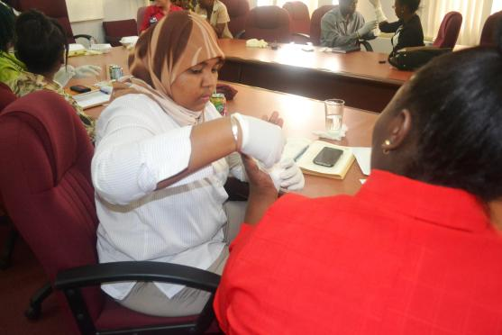 Participants of the CPR and First Aid training at the Ministry of Agriculture