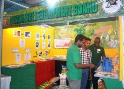 GRDB booth at Berbice Expo