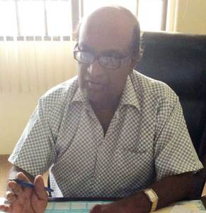 NAREI CEO, Dr. Oudho Homenauth