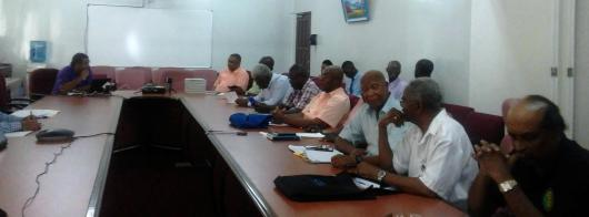 A section of the persons who attended the CDF Stakeholders' Consultation