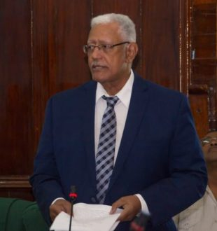 Minister of Agriculture moving the second reading of the Animal Welfare Bill 2016