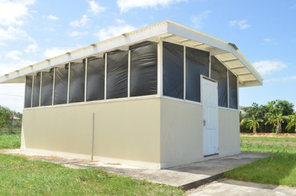 The Solar Drying Facility.
