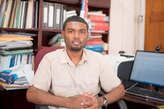 Chief Hydrometeorological Officer (CHO), Dr. Garvin Cummings