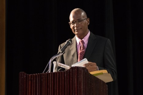 Director of Administration of the Guyana School of Agriculture (GSA), Dr. Dexter Allen