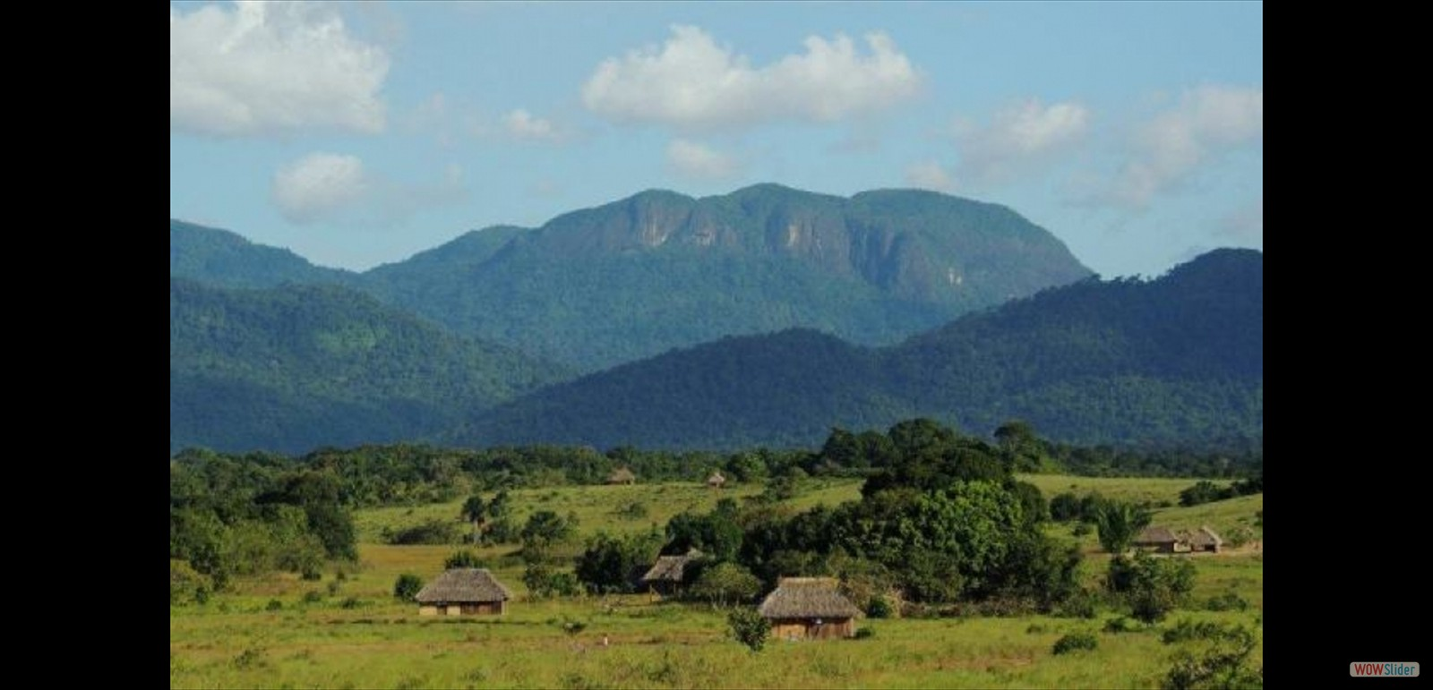 A Rupununi Village surrounded by lots of land