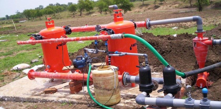 drip irrigation head unit