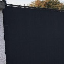 brise vue gris anthracite 230gr m lonodis pro premium rouleau 25m