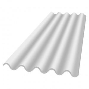 plaques de toiture eternit po5 clairflex translucide polyester renforce largeur 0 92 m 5 ondes