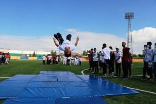 """Ağrı'da """"Avrupa Spor Haftası"""" çeşitli etkinliklerle kutlandı"""