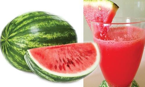 Juicy refreshing watermelon