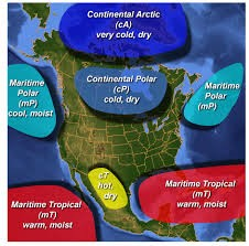 Air masses and how they Affect the weather