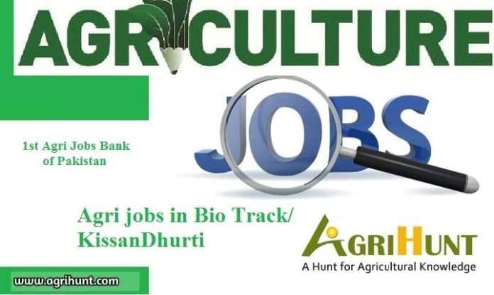 Agri jobs in Bio Track/KissanDhurti