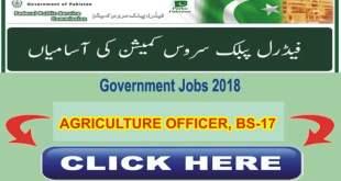 FPSC-JOBS-2018