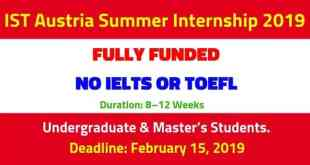 IST-Austria-Internship-2019-Fully-Funded-Summer-Internship-by-saad-ur-rehman-malik