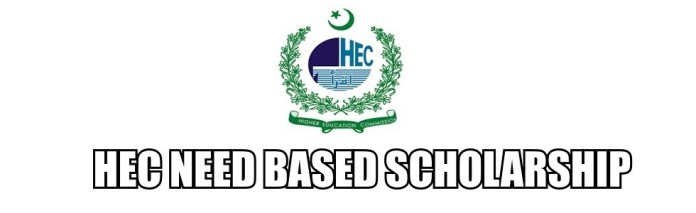 HEC Need Based Scholarships