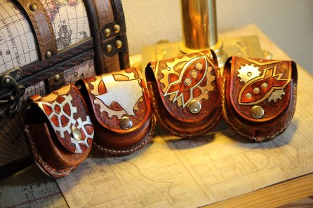 Handmade Leather Watch Cases