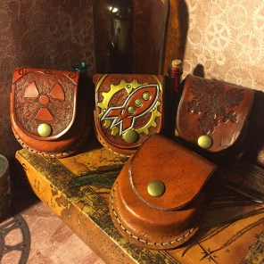 Leather Pocket Watch Cases