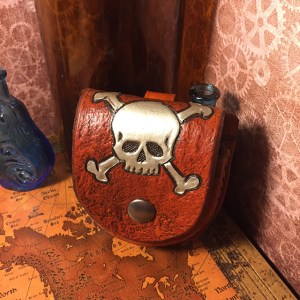 Crossbones Pocket Watch Case