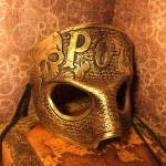 Gold Poison Mask