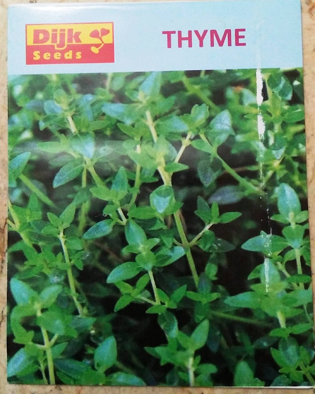 Thyme seeds in Pakistan