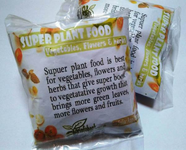 Plant food available in Pakistan