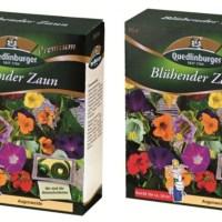 Blumensamen SET Blühender Zaun für 2x50m²