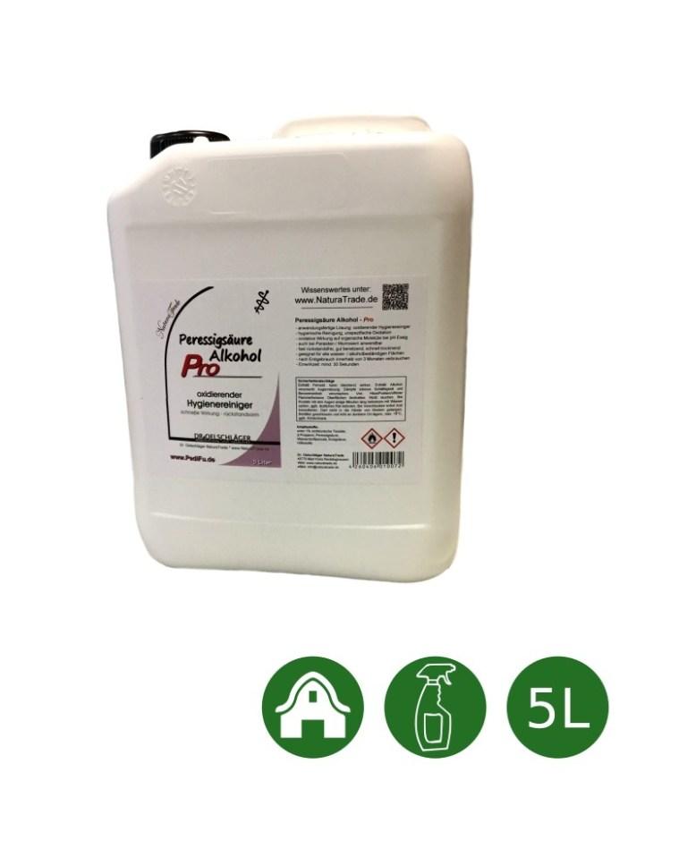 Natura Trade Peressigsäure / Alkohol Pro - 5 Liter
