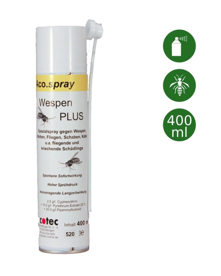 ACO SPRAY Wespen PLUS - 400 ml