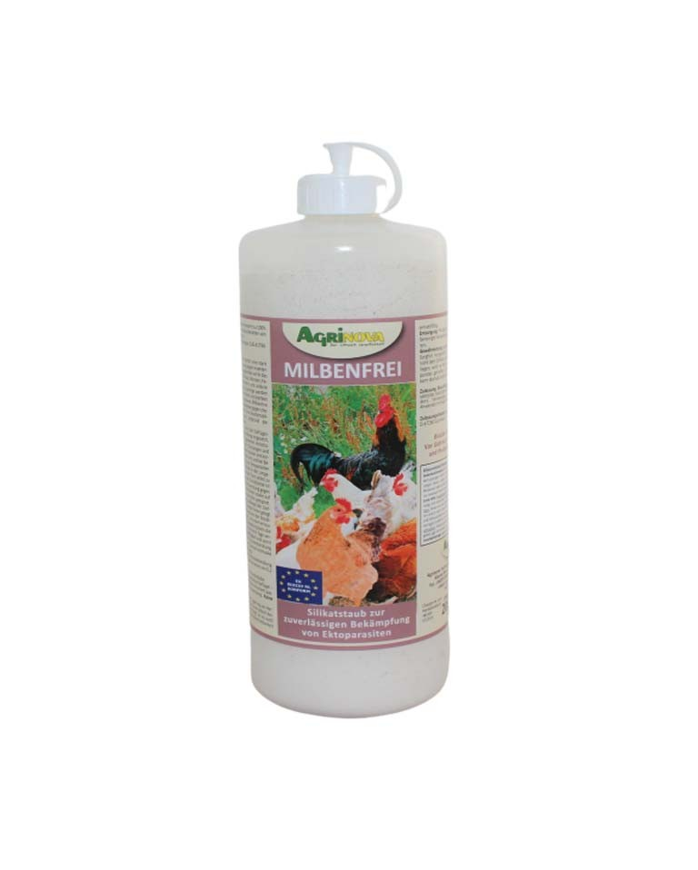 Agrinova MILBENFREI 1 Liter Stäubeflasche (200 g)