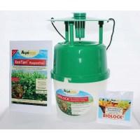 Buchsbaumzünsler-Falle, Inkl. 3 Lockstoff-Dispenser + Agrinova XenTari® Raupenfrei 25 g
