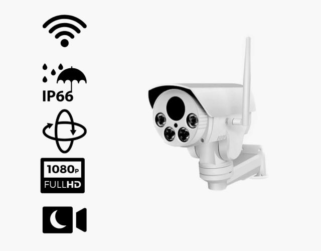 Caméra pivotante Wi-Fi