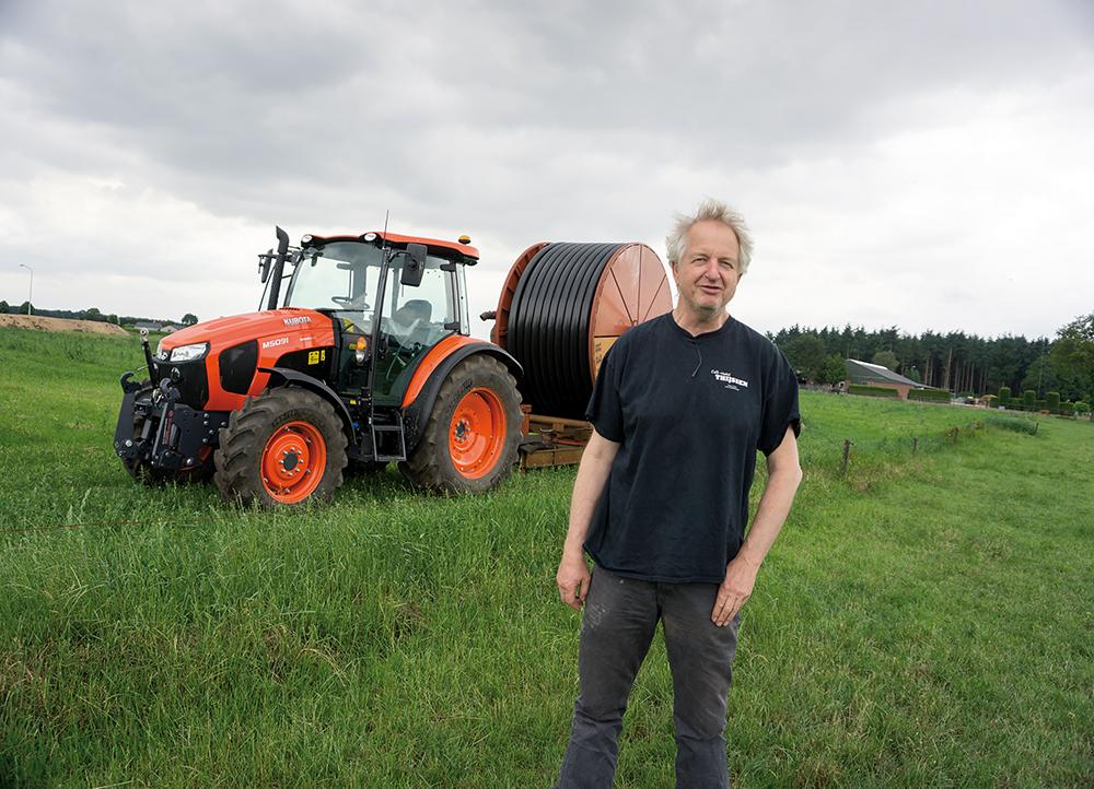 Melkveehouder Jan Keijzers in Vlierden - Klant van Lammers Machinery in Deurne (6)